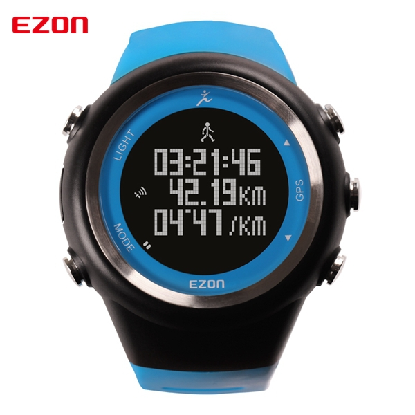 EZON GPS running watch calorie counter fitness sport watch men waterproof 50m sport watches for men reloj hombre deportivo T031<br><br>Aliexpress