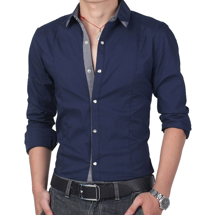 Buy big size new style mens leisure for In style mens shirts