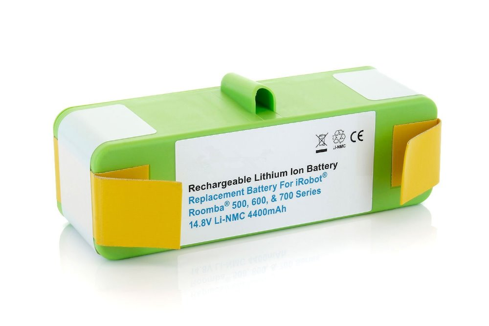 Highly Quality Replacement Battery For iRobot Roomba 500, 600, 700, 800 series and For Scooba 450 14.8V Lithium 4400mAh Battery(China (Mainland))