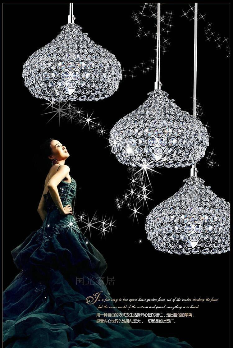 Crystal Simple Modern Restaurant Pendant Lights For Dining Room Modern LED Lustres Pendant LampS<br><br>Aliexpress