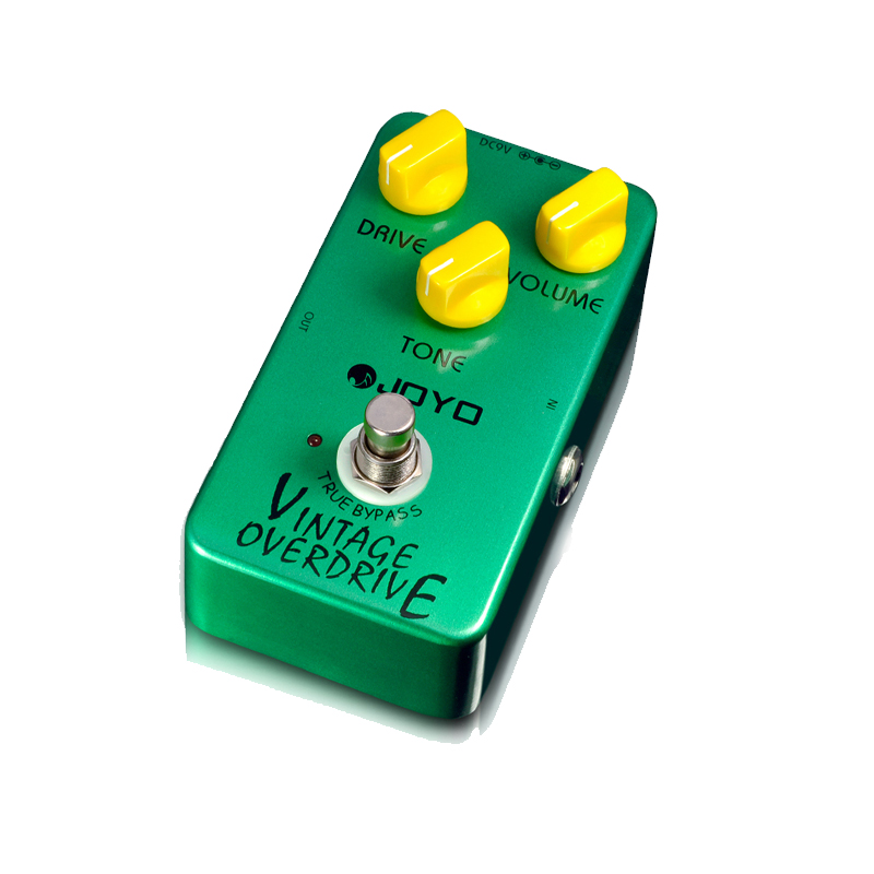 JOYO JF-01 Vintage Overdrive Effect Pedal high-gain overdrive high-power drive booster tube overload stompbox true bypass(China (Mainland))