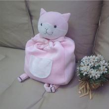 Danganronpa: Trigger Happy Havoc  Chiaki Nanami Kitty backpack 100% Handmade Plush Toy Cosplay Props