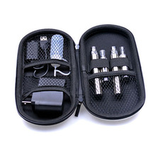 Top Sell Double 650 900 1100mAh Battery and MT3 Atomizer E cigarette Starter Kit with Zipper