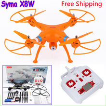 SYMA X8W X8C FPV Drone profissional 6-Axis Professional Quadcopter With 2MP WiFi Camera RC Helicopter Battery And Blades As Gift