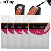 french nail sticker 5 sheet Nail Art Tip Manicure Guides  Packs C, Y, V 3 Style Guides DIY Stencil Nail tools Fashion(China (Mainland))