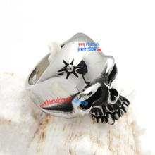 bv ring Sun in Forehead Skull umode rings biker Stainless Steel ring Wholesale  biker  jewelry / hippie charms jewelry