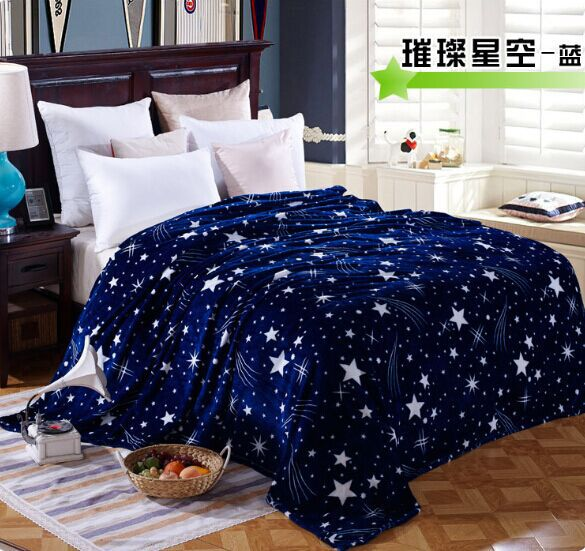 Free Shipping, 4 sizes, fashion flannel blanket, soft, environmentally antibacterial autumn and winter coral fleece blanket(China (Mainland))