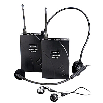 Original Takstar UHF-938/ UHF 938 Wireless Tour Guide System UHF frequency wireless microphone Transmitter+Receiver+MIC+earphone(China (Mainland))