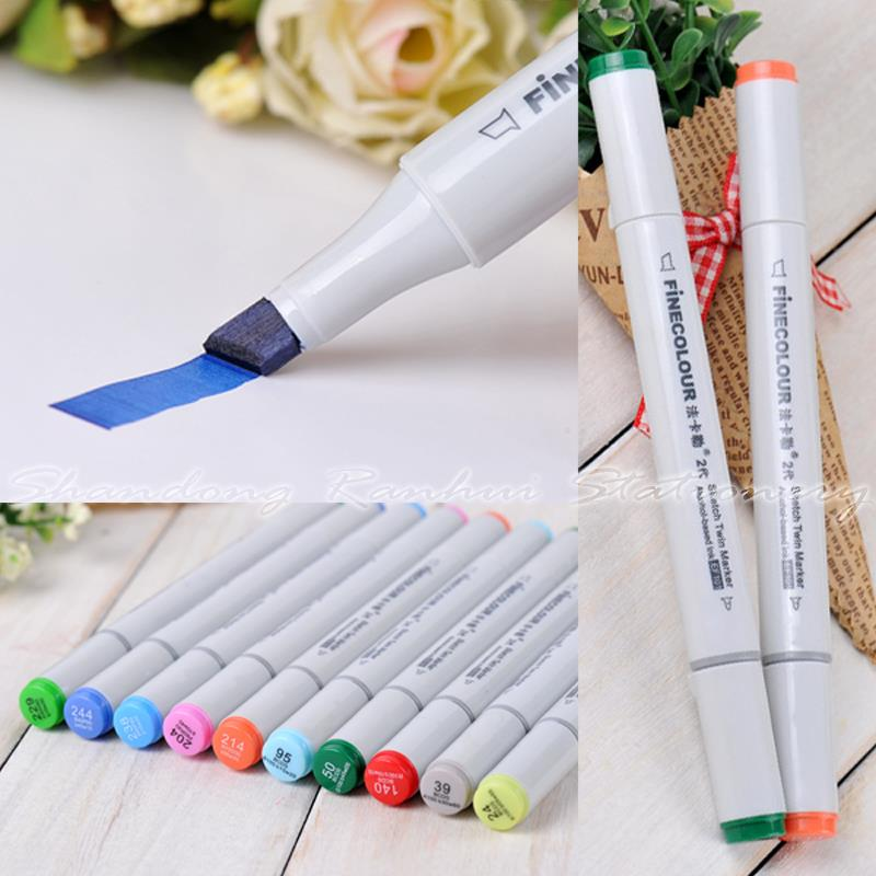 12 P Colors self-selection set Marker Pen commonly used Sketch marker copic markers(China (Mainland))