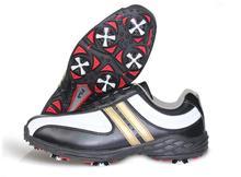 Мужчины марка открытый гольф мужской обуви водонепроницаемый анти-слип ударопоглощение спортивная обувь мужчины mirofiber кожа спортивная обувь