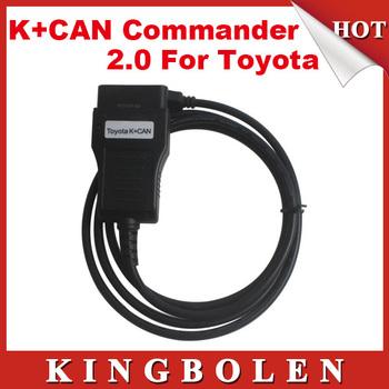 2015 High Quality TOYOTA K+CAN 2.0 Commander 2.0 USB Key Programmer Free Shipping