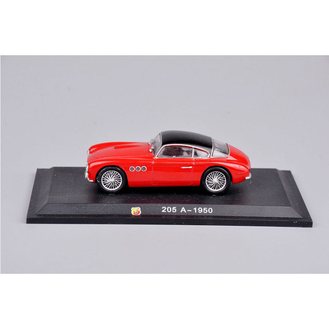 In Stock 1:43 Diecast Car Model ABATH Red Color 205 A-1950 1/43 Toys Car Model Diecast Vehicles Truck Toys For Kids Gifts C