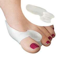 Hot Soft Beetle-crusher Bone Ectropion Toes outer Appliance Silica Gel Toes Separation Health Care Products