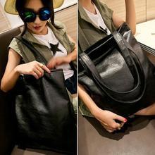 Super Girls Women Big Shoulder Bag Hobo Punk Messenger Clutch Bags Leather Handbag SM24