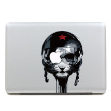Removable Avery DIY waterproof colors terrorble black cat head tablet and laptop computer sticker for macbook Pro 15,170*270mm