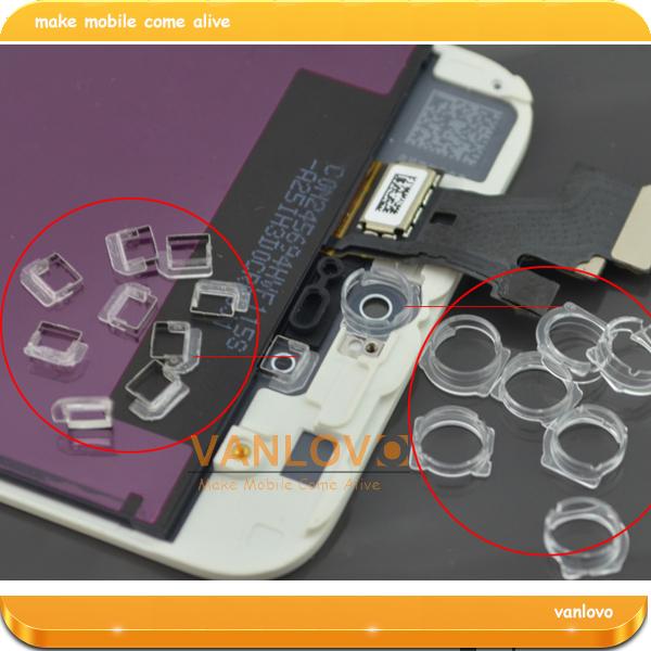 50 pair genuine OEM front facetime camera ring sensor bracket holder for iPhone 5 5g free shipping