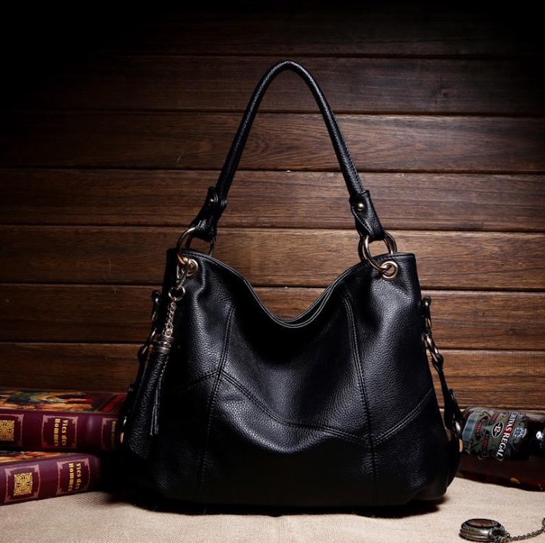 2016 New Women Genuine Leather Handbags Fringe Pattern Girl Bags Patry Evening HandBag Bolsos Sale Medium(30-50cm) Dollar Price(China (Mainland))