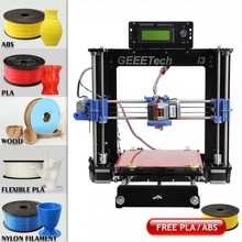 Unassembled WER Acrylic I3 Pro B 3D Printer DIY Kit Print With Free Materials