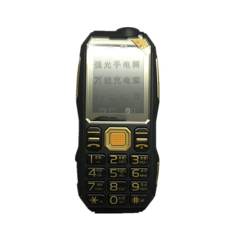 2017 New Unlocked Power Bank Phone With Camera MP3 MP4 FM Flashlight Big Sound 8800MAH Dustproof Rugged Sports Cheap Phone SD004(China (Mainland))