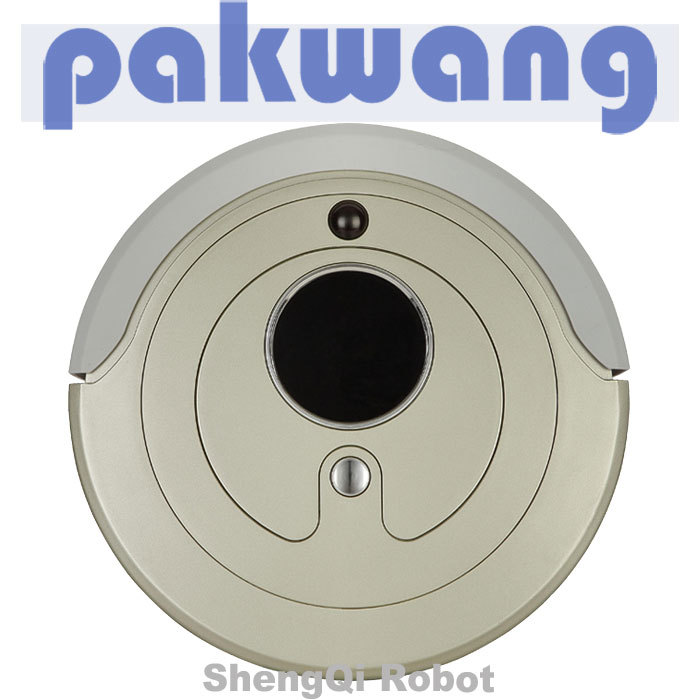 High Speed Running Large Battery Large Dustbin Vacuum Cleaner,low noise,robot vacuum(China (Mainland))