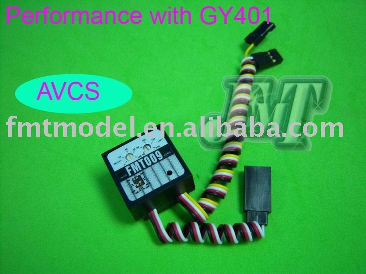 TOPS F00002 FMT009 Digital Head Lock Gyro, Performance with GY401, For trex 250, 400, 450, 500 RC Helicopter(China (Mainland))