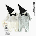 Baby Clothing Infant Rompers 0 2 Years Clothing Baby Boy Girl 100 Cotton Plaid Siamese Long