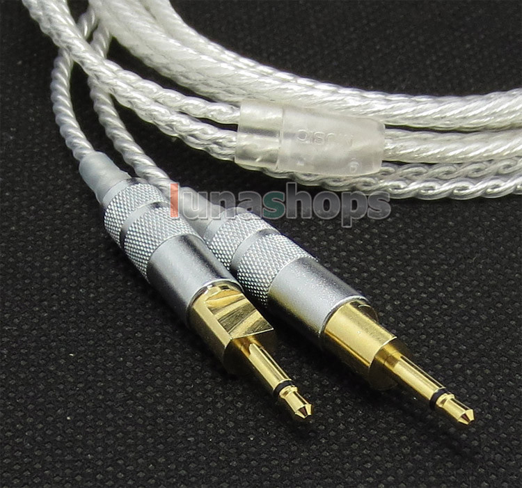 4pin XLR Male PCOCC + Silver Plated Cable for Sennheiser HD700 Headphone Headset LN004738