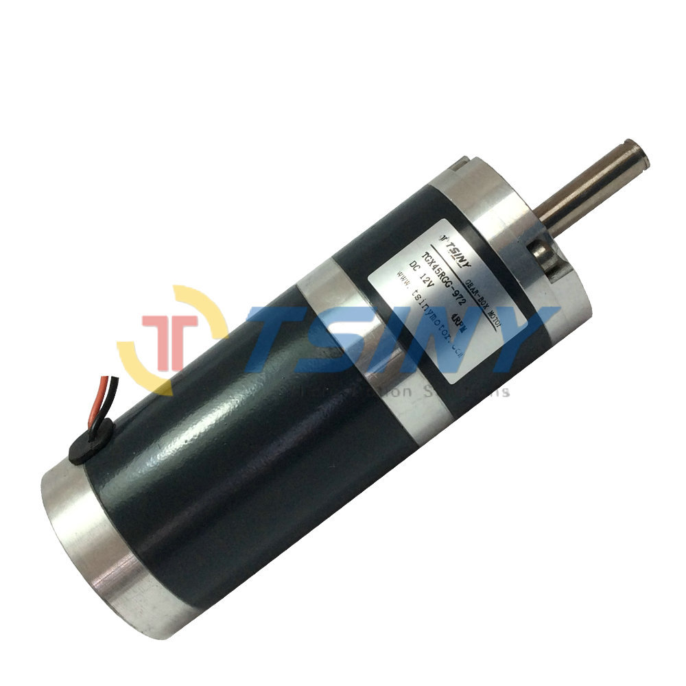 Buy high torque 45mm dia 12v 4rpm dc Dc planetary gear motor