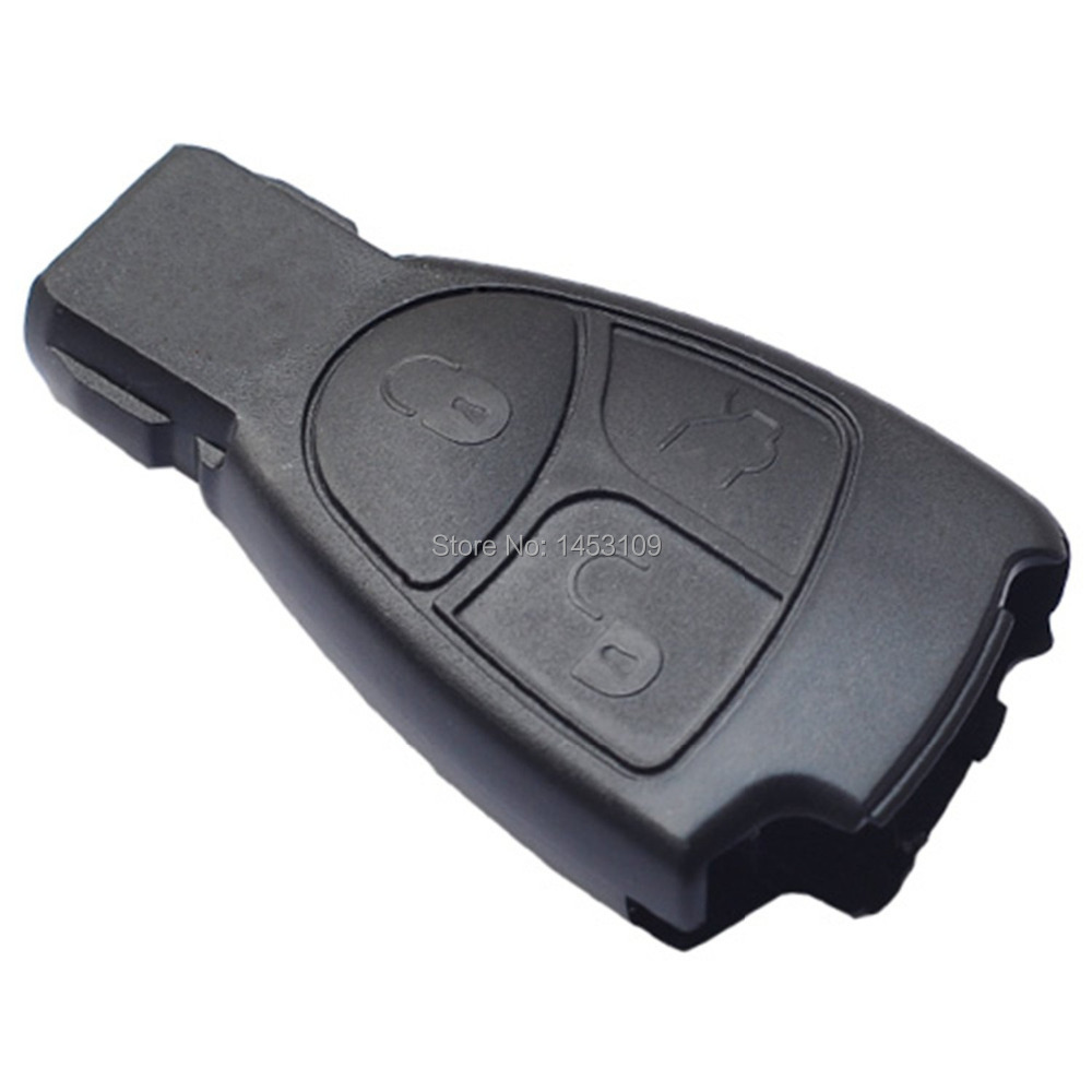 New smart transmitter fob remote entry key case shell for for Mercedes benz replacement keys