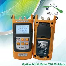 2 В 1 Волоконно-оптический измеритель Мощности с 10 км Лазерный источник Визуальный дефектоскоп VD708-10mw(China (Mainland))