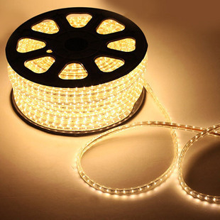 Opp light led strip flat three wire white 46 beads g9978 1 meters 8