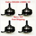 Cobra Motor CM2204 2300 V2 Super Combo Pack 4pcs per set Brushless Motor for Mini drone