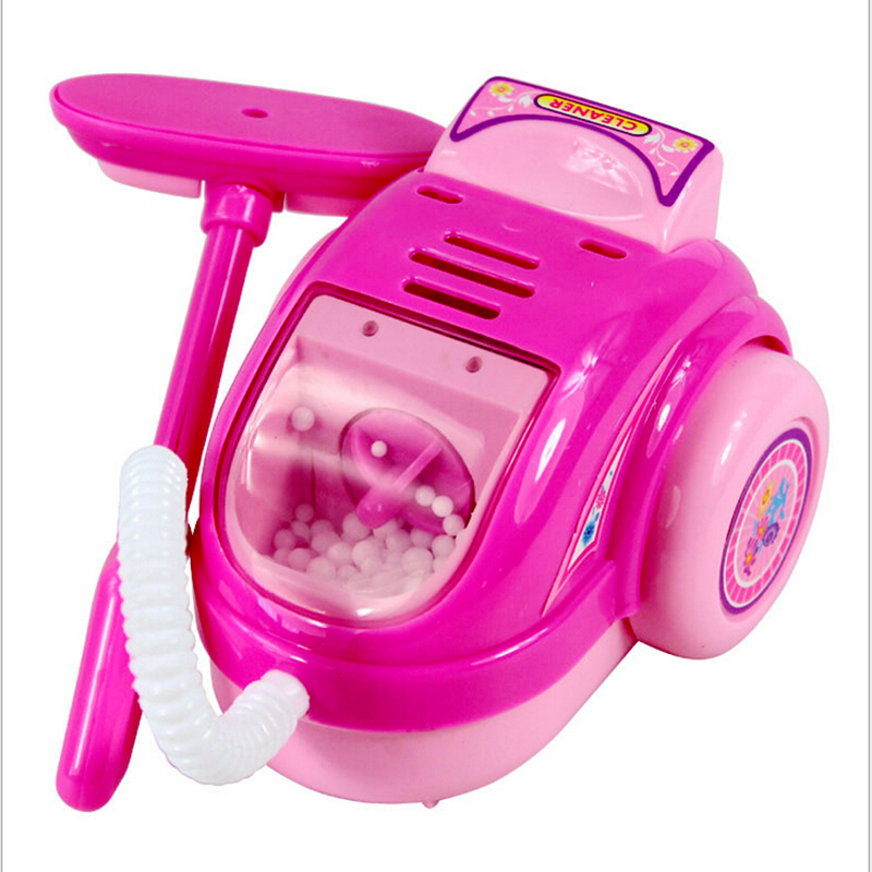 appliances toys kitchen vacuum cleaner Play house toys emulation toys with electric function girl's toy Free ship(China (Mainland))