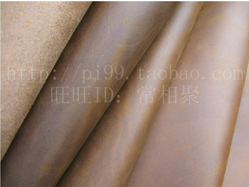 21*14cm/8*5.5 inches Dark-brown Square Crazy horse leather Harder Cow leather -big size(China (Mainland))