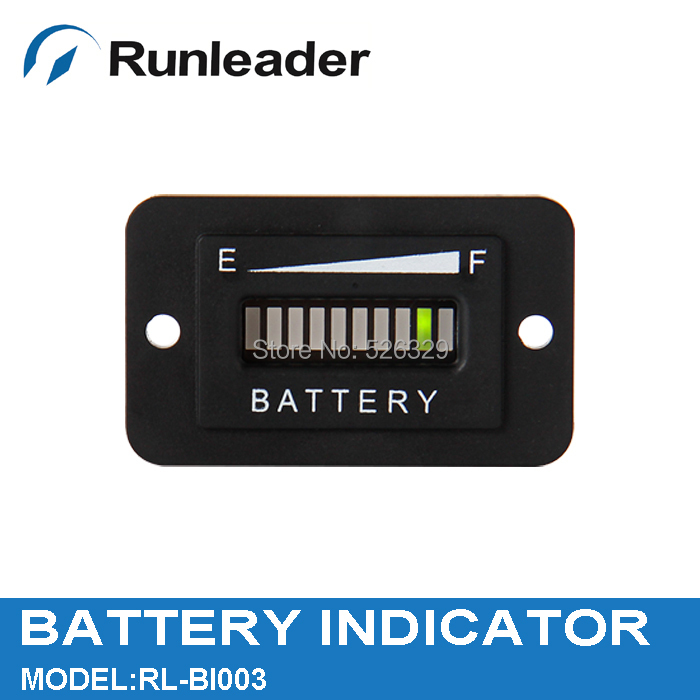 Free Shipping 12 24V Battery Level Indicator Battery Tester for Floor Care Equipment(China (Mainland))