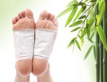 2pcs Patches+2pcs Adhesives Charcoal Detox Foot Pads Patches with Adhesive Foot Care Health B010