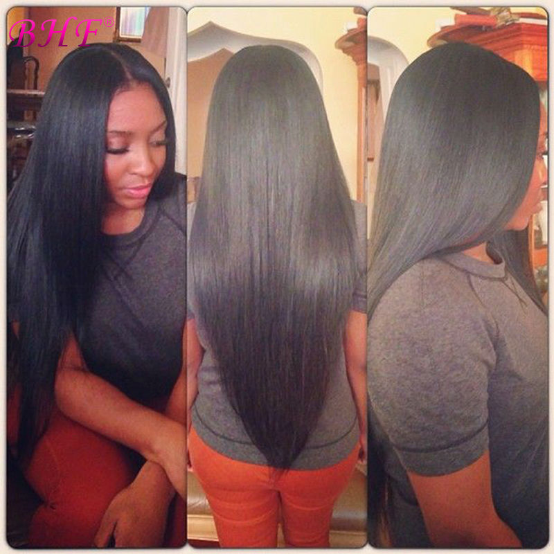 7A Grade 100% Brazilian Virgin Remy Clips In Human Hair Extensions 8Pcs/Set  Natural Black Brazilian Virgin Hair Straight 100<br><br>Aliexpress