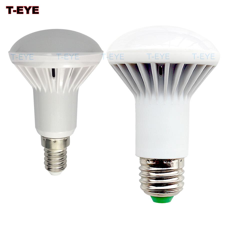 3w 5w 7w 9w led lamp e14 r50 led bulbs e27 r63 led lamp light smd2835 energy saving ac 110v 220v 240v warm white/white lights(China (Mainland))