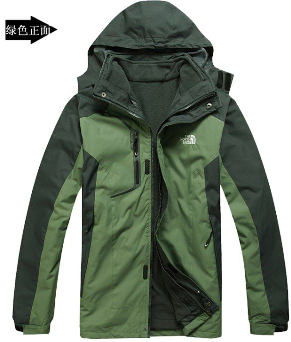2013warm's Outdoor Waterproof ! Windproof !Keep Warm !Comfortable! man Jacket 2in1 Coat /5Color/ - Online Store 214194 store