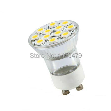 Factory directly sale Small GU10 Led Bulb 2w (50 piece / lot)(China (Mainland))