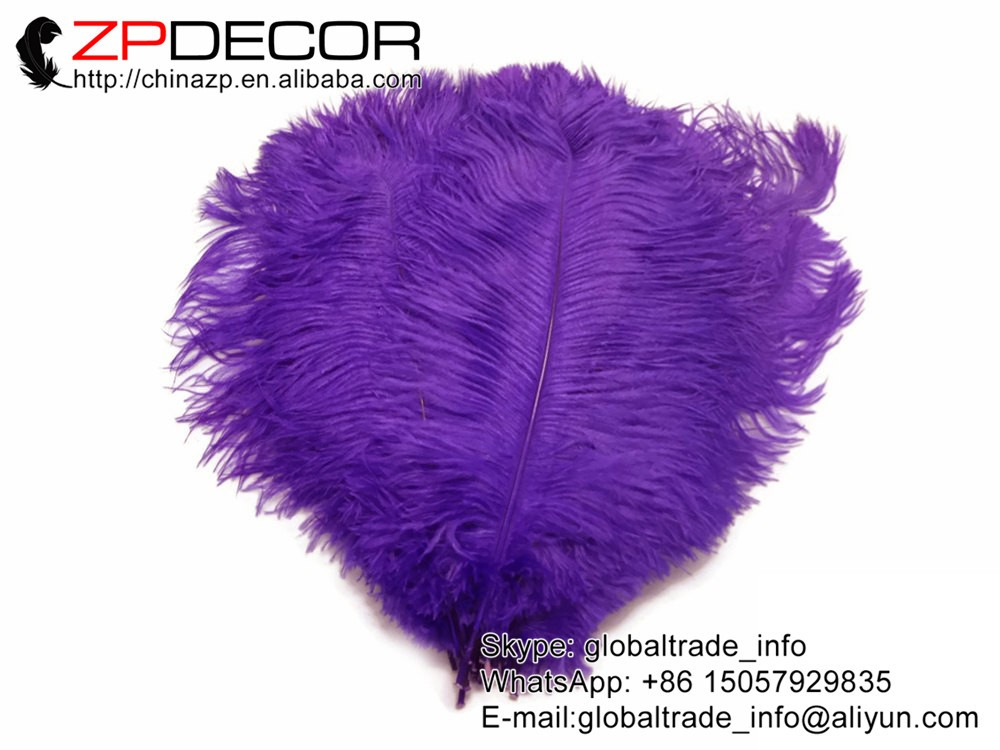 """10 Pieces 11-13/"""" ROYAL BLUE Ostrich Dyed Drabs Feathers"""