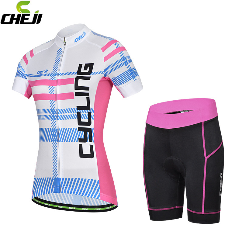 2014 New women Cycling Jersey summer Shorts/Riding Suit/ Short Sleeve set Bike Clothing+sweat suits women+Cycling(China (Mainland))