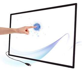 "Free Shipping! 32"" Dual usb Infrared multi touch screen for touch table,touch kiosk,video wall, driver free, plug and play(China (Mainland))"