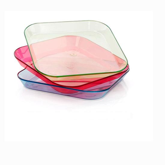 1 pcs Fashion Fruit Plates Candy Dessert Bowl Dish Storage Home Decoration Kitchen Tool Free Shipping(China (Mainland))