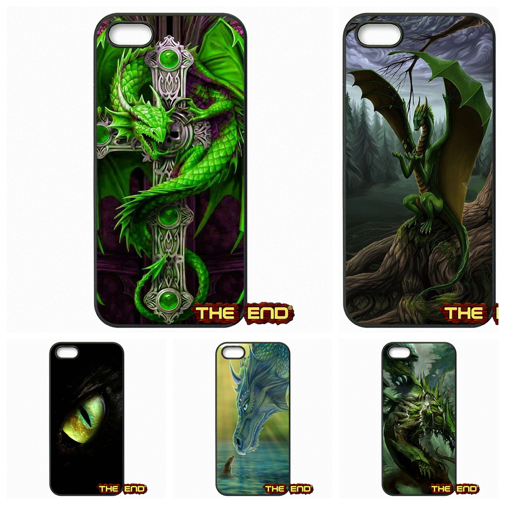 Green Dragon Stunning Digital Art Cell Phone Cases Cover For Samsung Galaxy A3 A5 A7 A8 A9 Pro J1 J2 J3 J5 J7 2015 2016(China (Mainland))