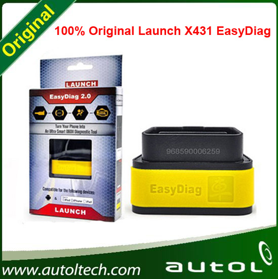 2016 New Arrival Launch X-431 Easydiag X431 auto diag diagnostic Tool Bluetooth for For iOS & Android free shipping(China (Mainland))