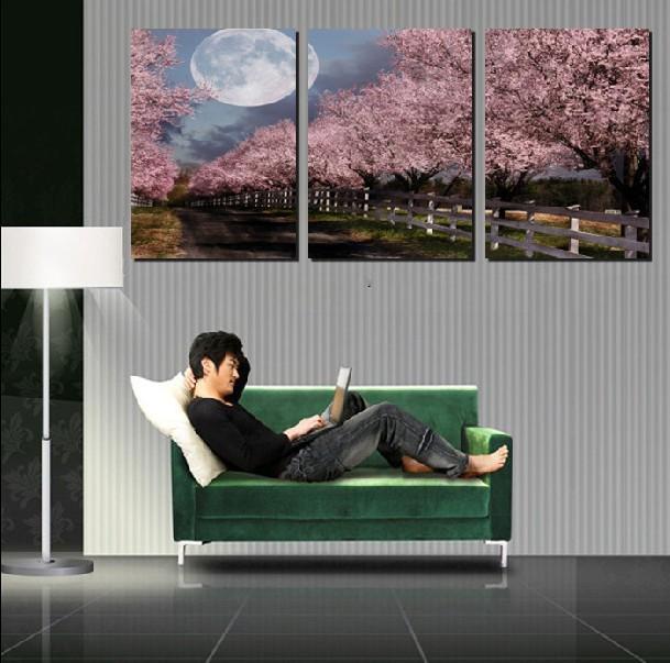 Hoge kwaliteit abrikozenbloesem koop goedkope for Moderne schilderkunst