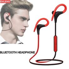 Stereo Wireless Bluetooth Earphone Neckband Sport Sweatproof Headphone Bluetooth Mobile Phone Earphone Earpiece Fone De Ouvido