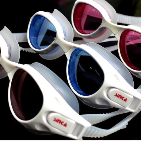 Sheng Jia (Hong Kong) box anti-fog reinforced waterproof unisex swim goggles S1929F special(China (Mainland))
