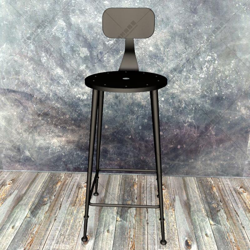 Rustproof iron bar stool slow roll chair chairs high kicking designer cafe stools<br><br>Aliexpress